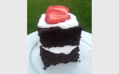 Real Good Impossible Cake