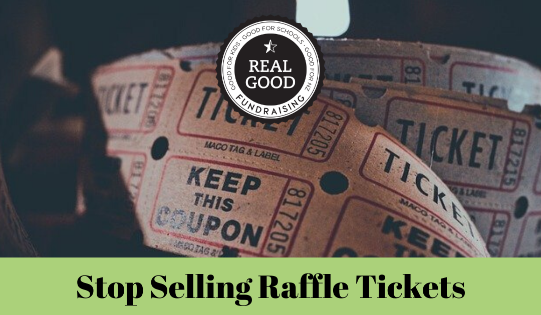 7 Fundraising Ideas Other Than Selling Raffle Tickets Real Good Fundraising