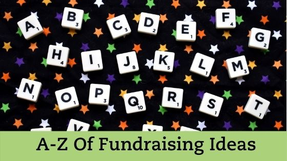 Ultimate A to Z Fundraising Ideas List